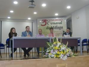 Moderadores Congreso (Foto: www.carnavaldemalaga.com)