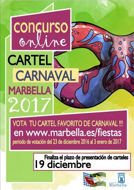Bases Cartel Carnaval 2.017 Marbella