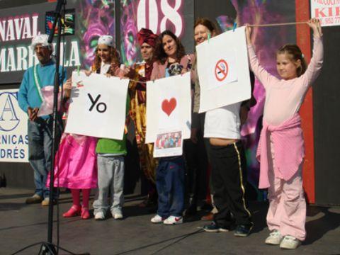El Carnaval de Marbella se solidariza con la ayuda contra el Cancer